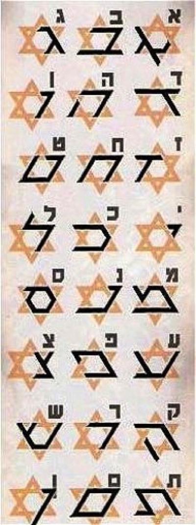 Secretele alfabetului ebraic Penta-13